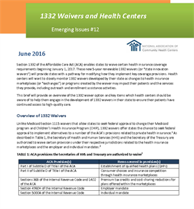 hiteq center 1332 waivers and health centers
