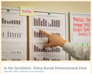 In the Incubator:  Using Social Determinants Data