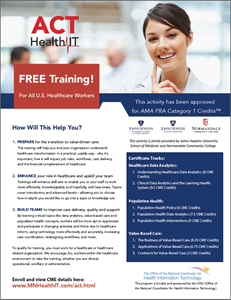 Free CME Training with Three Tracks