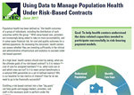 Using Data to Manage Population Health Under Risk-Based Contracts