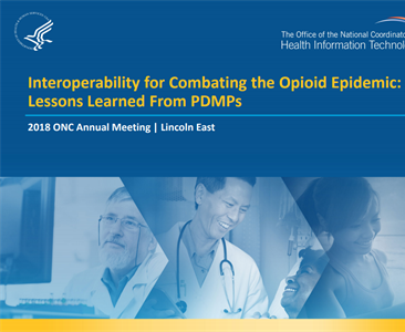 Interoperability for Combating the Opioid Epidemic: Lessons Learned From PDMPs