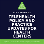 Telehealth Policy during Coronavirus/ COVID-19 Pandemic