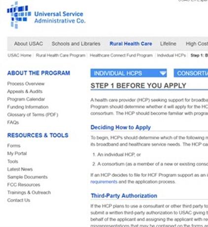 HITEQ Center - USAC Rural Health Care Program
