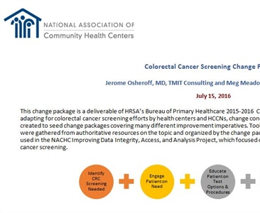 Colorectal Cancer Screening Change Package
