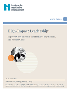 High-Impact Leadership