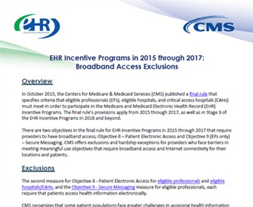 Broadband Access Exclusions