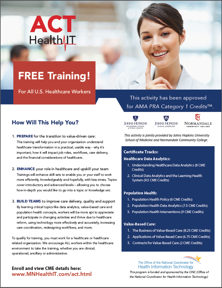 HITEQ Center - Free CME Training with Three Tracks