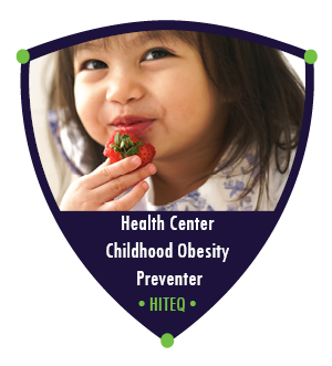 HITEQ Health Center Childhood Obesity Preventer Badge